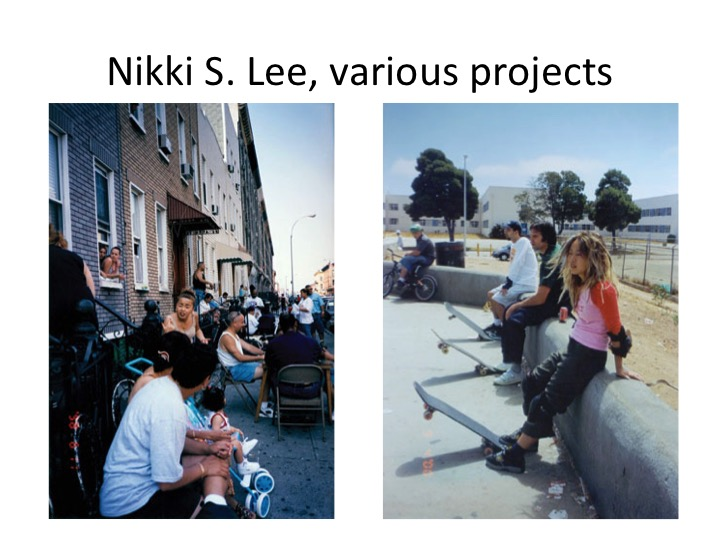 Nikki S. Lee, various projects